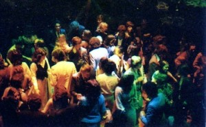 fiesta en los 70's